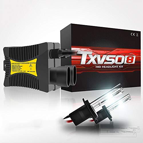 ZIHAOE H7 35W 55W AC Xenon Brenner, Xenon HID Conversion Kit Scheinwerfer 12V, Für Auto Fahrzeug Ersatz Halogenlampe Set, 5000K /6000K /8000K /10000K /12000K (2 Stücke),35W-6000K