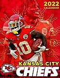 """Kansas City Chiefs calendar 2022: American Football Calendar 2022-SPORT Calendar 2022-2023 – 18 months – BIG SIZE 17""""x11"""". Planner for all fans kids boys"""