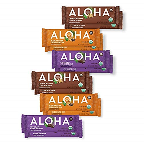 ALOHA Organic Triple Threat Chocolate Plant Based Protein Variety Pack