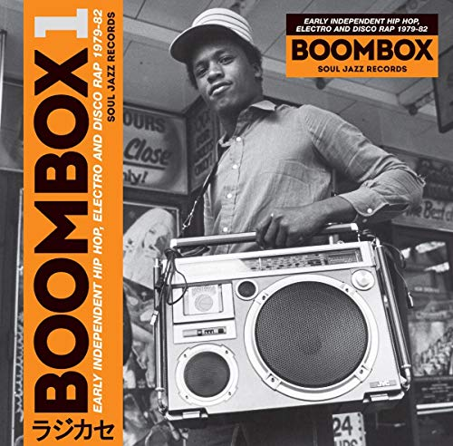 Boombox 1979-1982: Early Independent Hip Hop, Electro and Disco Rap (3LP + D.code) [Vinyl LP]