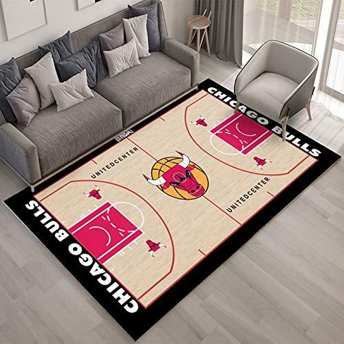 yan Tapis NBA Bull Stadium Salon Chambre Canapé Imperméable Tapis Hall Couloir Cuisine Corridor Hommes d