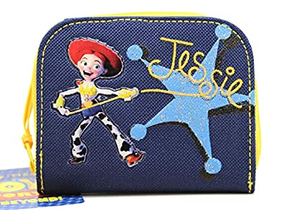 Toy Story Jessie Navy/Yellow Bi-fold and Zipper Pouch Kids Wallet
