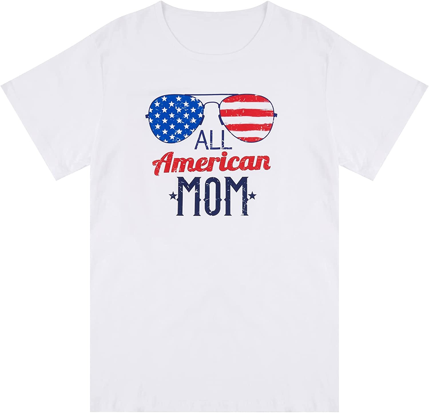 Family Matching Sales for sale Gorgeous Shirts Independence Day Short Women Shirt Men Sl