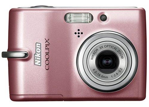 Nikon Coolpix L10 5.0MP 3x Zoom Digital Camera (Pink)