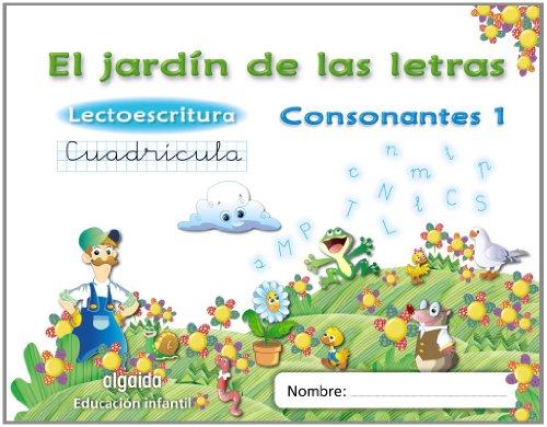 El jardín de las letras. Lectoescritura. Consonantes 1. Cuadrícula. 5 años Educación...
