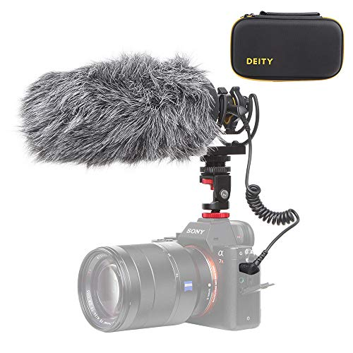 Deity V-Mic D3 Pro Super-Cardioid Directional Shotgun Microphone with Rycote Shockmount for DSLRs, Camcorders, Smartphones, Handy Recorders, Laptop and Bodypack Transmitters, W/Pergear Windscreen Broadcast Grade Shotgun Microphone