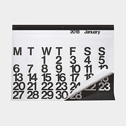 Stendig オーバーサイズ カレンダー 2018