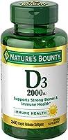 Vitamin D by Nature's Bounty for immune support. Vitamin D provides immune support and promotes healthy bones. 2000IU,...