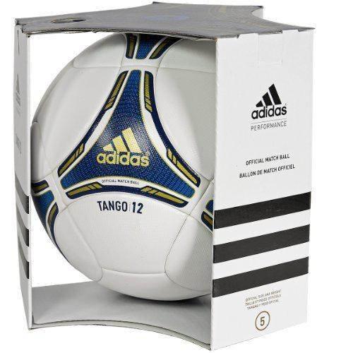 Adidas FIFA 2012 - Pallone da calcio Tango 12, colore: Bianco/satellite