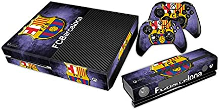 Barcelona FC Champion Designer Skin Sticker for the Xbox One Console With Two Wireless Controller