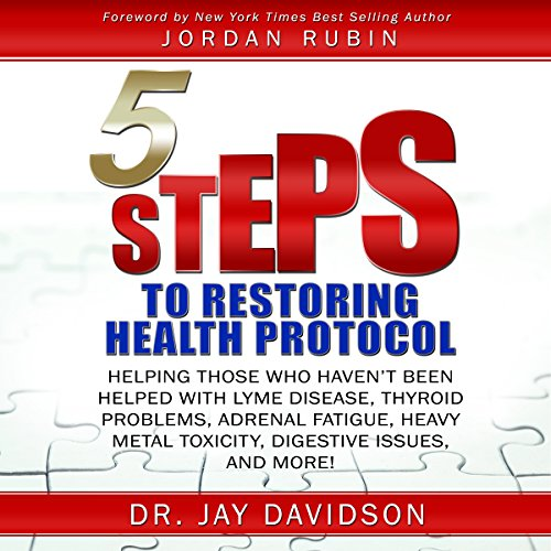 5 Steps to Restoring Health Protocol audiobook cover art