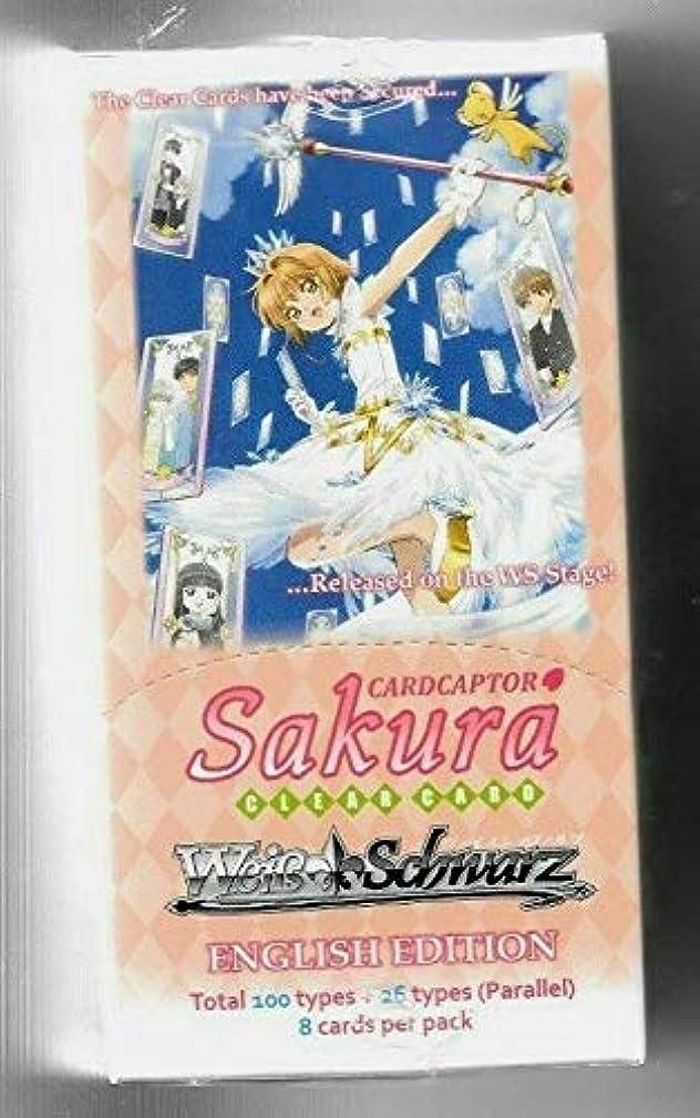 Weiss Schwarz Cardcaptor Sakura Clear Card Booster Box English