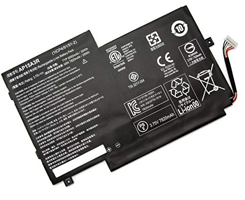 XITAIAN 8060mAh 30Wh 3.75V AP15A3R Repuesto Batería para Acer Aspire Switch 10 SW3-013 KT.00203.009 (1ICP4/91/91-2)