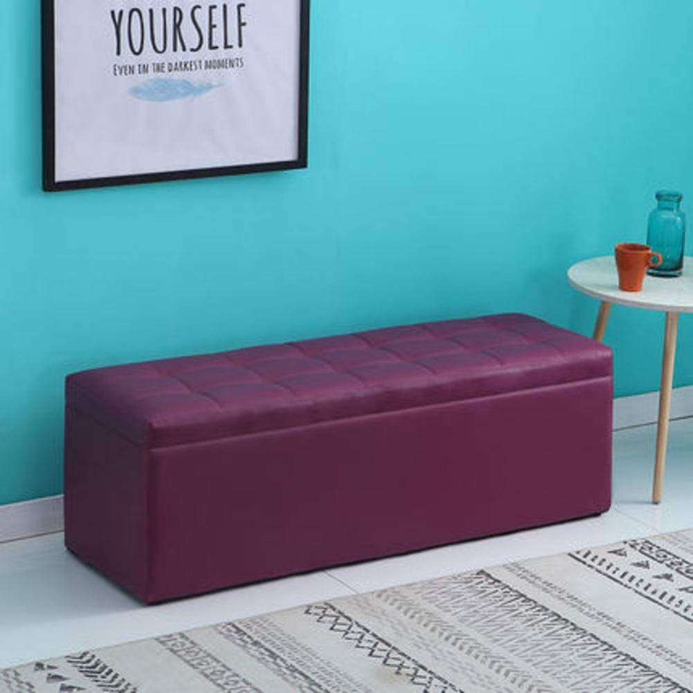 QTQHOME Storage A surprise price is realized Bench for Bedroom Nashville-Davidson Mall and Comfortab Hallway Soft