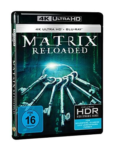 Matrix Reloaded (4K Ultra HD) (+ Blu-ray 2D) (+ Bonus-Blu-ray)