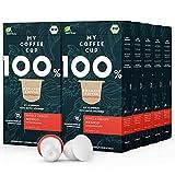 My Coffee Cup – SINGLE ORIGIN MEXICO DECAF – BIO-KAFFEE 10 PACKUNGEN I 100 Kaffeekapseln für Nespresso®³Kapselmaschinen I Industriell kompostierbare Kaffeekapseln – 0% Alu I Nachhaltige Kaffeekapseln