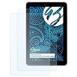 Bruni Schutzfolie kompatibel mit Medion LIFETAB E10501 MD60240 / MD60331 Folie, glasklare Bildschirmschutzfolie (2X)