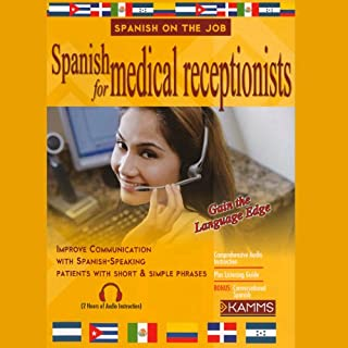 Spanish for Medical Receptionists cover art