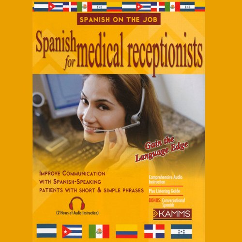 Spanish for Medical Receptionists audiobook cover art