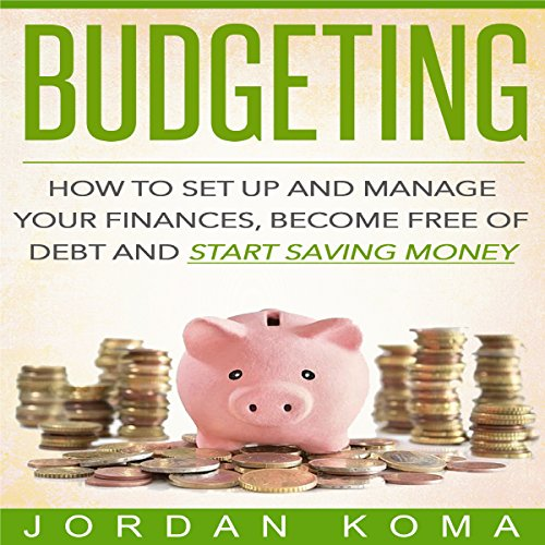 Budgeting audiobook cover art