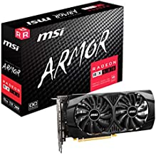 MSI Gaming Radeon Rx 580 256-bit 8GB GDRR5 HDMI/DP DirectX 12 VR Ready Crossfire Freesync Graphics Card (RX 580 8GT)