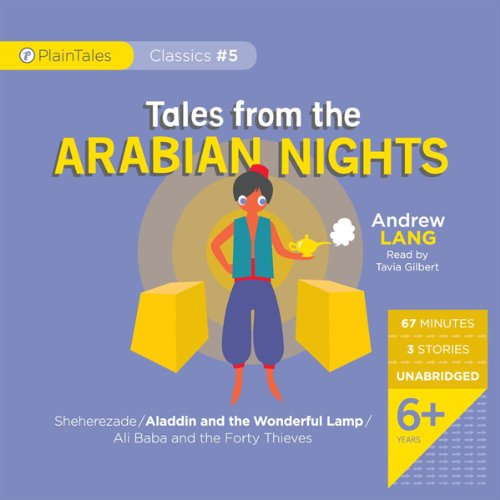 Tales from the Arabian Nights audiobook cover art