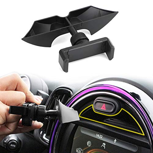 Topteng Car Dashboard Slot Phone Holder Mount fits for MINI Cooper F54 F55 F56 F57 F60