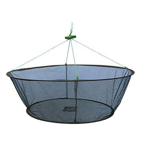 Portable Folded Fishing Net Fish Shrimp Minnow Crayfish Crab Baits Cast Mesh Trap Automatic