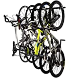 StoreYourBoard Bike Storage Rack, Holds 5 Bicycles, Home and Garage...