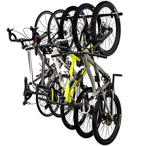 StoreYourBoard Estante de Almacenamiento para Bicicletas Omni, Tiene Capacidad para 5...