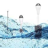 Flaschenbürste Set, Delmkin 3 Stück Silikon Babyflasche Reinigungsbürste mit Nippelbürste und Strohbürste, Reinigungsset für Flaschen Thermosflaschen Glastassen (grau)