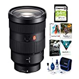 BUNDLE INCLUDES: Sony FE 24-70mm f/2.8 GM Lens, The Corel Photo, Video, and Art Suite v.3.0, Zeiss Lens Cleaning Kit, and Kingston 64GB SDHC Canvas Select Plus Memory Card CONSTANT F/2.8 MAXIMUM APERTURE: Shooting in low-light situations is always ch...