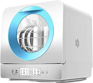 PIGE Lavavajillas doméstica pequeña vajilla Inteligente desinfección secador-Control Remoto, 6 Modos de Lavado, Gran Capacidad, Temporizador de 25 Minutos