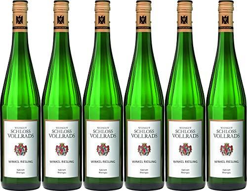 Schloss Vollrads Winkel Riesling Kabinett/ 2019 Süß (6 x 0.75 l)
