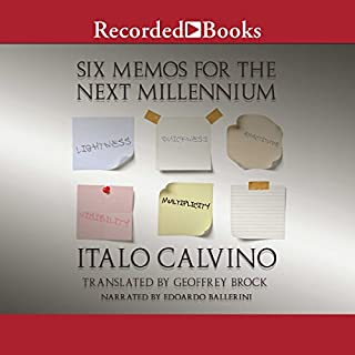 Six Memos for the Next Millennium audiobook cover art