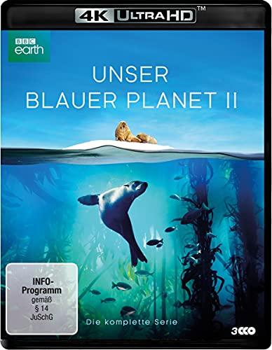 """UNSER BLAUER PLANET II - Die komplette ungekürzte Serie zur ARD-Reihe """"Der blaue Planet"""" (4K Ultra HD9 [Blu-ray]"""