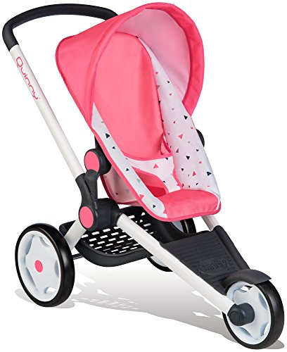 Smoby 255098 Quinny Jogger poppenwagen, roze