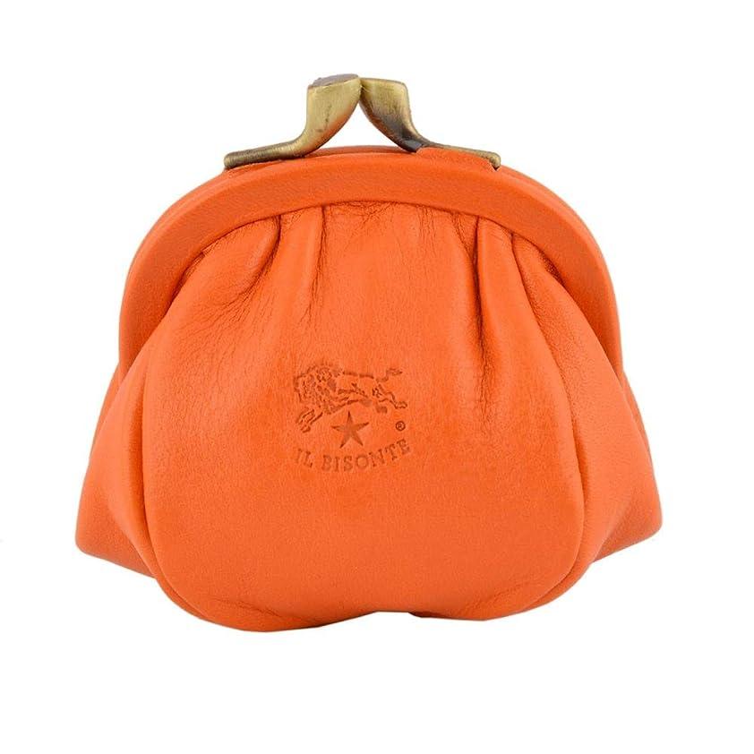 重要なエキスパートウェイドイルビゾンテ IL BISONTE C0674 166 Orange がま口小銭入れ コインケース【レディース】 [並行輸入品]