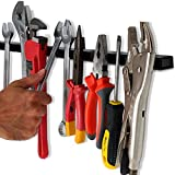 24' Heavy-Duty Magnetic Tool Holder (Upgraded Version) - Extremely Powerful Magnetic Pull Force to Hold Heavy Tools - Professional Space-Saving Magnetic Tool Bar - Metal Tool Organizer Rack/Strip