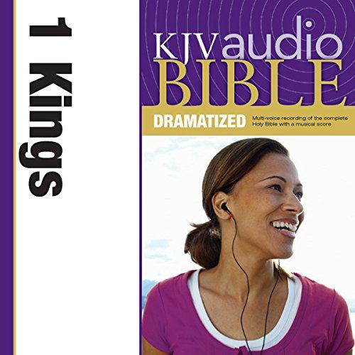 Dramatized Audio Bible - King James Version, KJV: (10) 1 Kings Audiobook By Thomas Nelson cover art