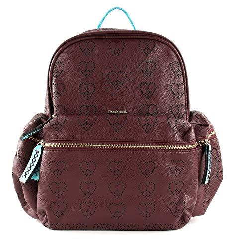 Desigual True Love Oss Backpack Mini Ruby Wine