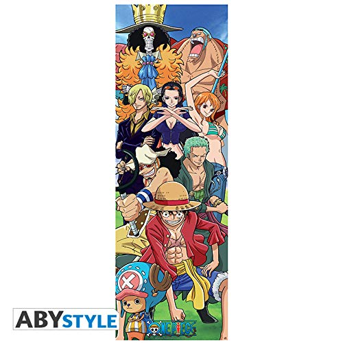 ABYstyle One Pice - Póster de puerta (53 x 158)