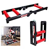 Fluid Bike Trainer Stand Mountain Road Training Platform Turbo Trainer Wire-controlled Indoor Variable Resistance Indoor Bike Trainer For Road & Mountain Bicycles for Road & Mountain Bikes