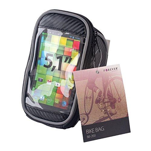 Forever Bike bag BB-200-black Sac banane porte Smartphone 5,1\