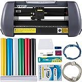 VEVOR Máquina de Plotter de Corte 375 mm 10-800 mm/s Plotter de Corte de Vinilo 58,4 x 24,1 x...