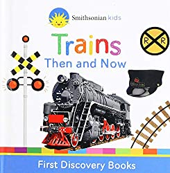 Trains Then and Now Book