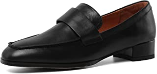 ONEENO Women's Leather Penny Loafers