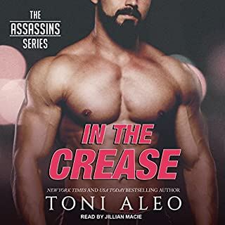 In the Crease     Assassins Series, Book 11              Written by:                                                                                                                                 Toni Aleo                               Narrated by:                                                                                                                                 Jillian Macie                      Length: 16 hrs and 4 mins     Not rated yet     Overall 0.0