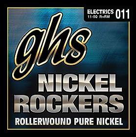 .011 .015 .018 .026 .036 .050 - Juego / Guitarra EléctricaMediumPur Nickel WoundRollerwoundHexagonal CoreMade in USA
