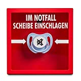 trendaffe Schnuller für den Notfall Scherzartikel - Notfall-Schnuller Spaßartikel Gadget